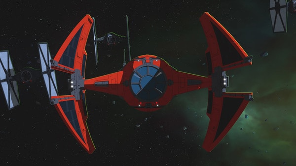 TIE/ba Baron Space Superiority Interceptor