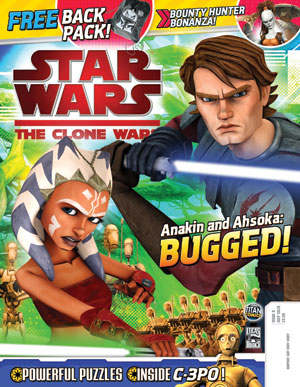 Star Wars: The Clone Wars Comic UK 6.9