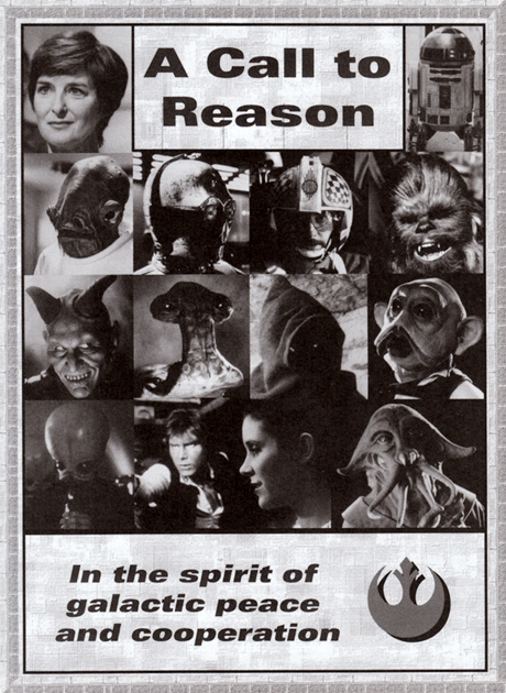 A Call to Reason