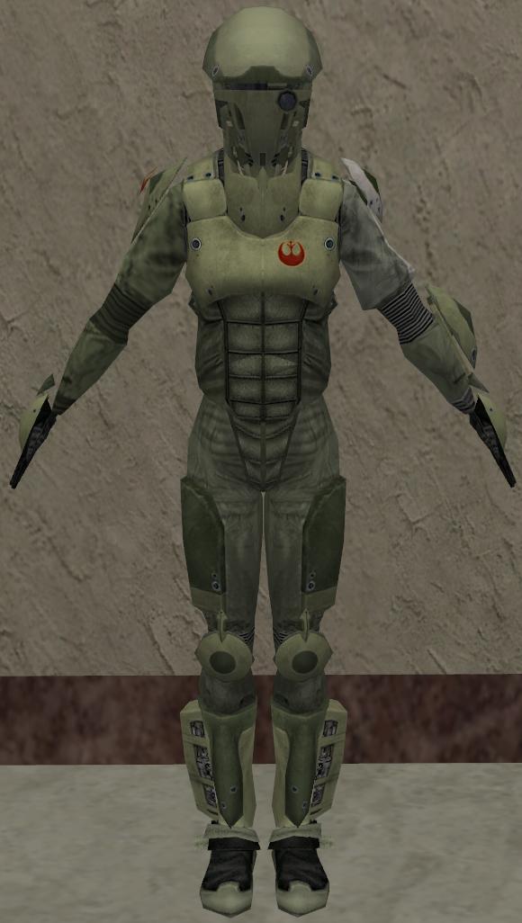 Rebel assault armor