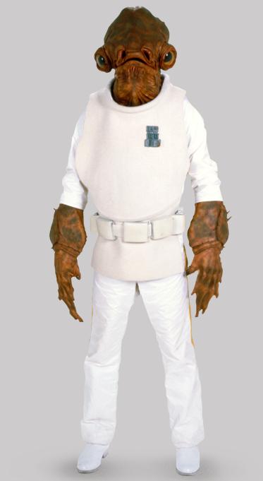 Mon Cal uniform jerkin