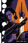 Star Wars Princess Leia Vol 1 3 Francesco Francavilla Textless Variant