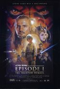 《星球大战I:幽灵的威胁》宣传海报(美国)