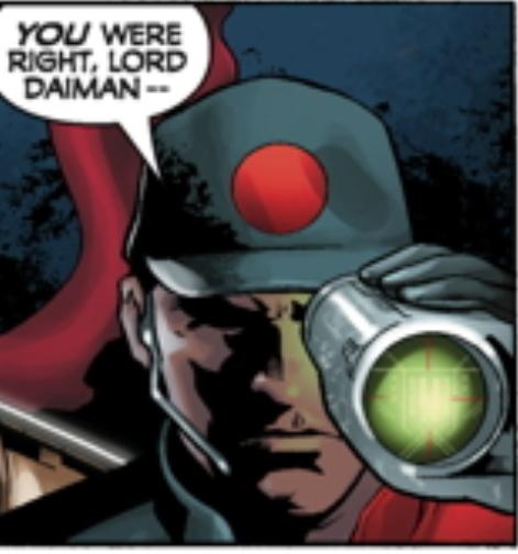 Daimanate officer