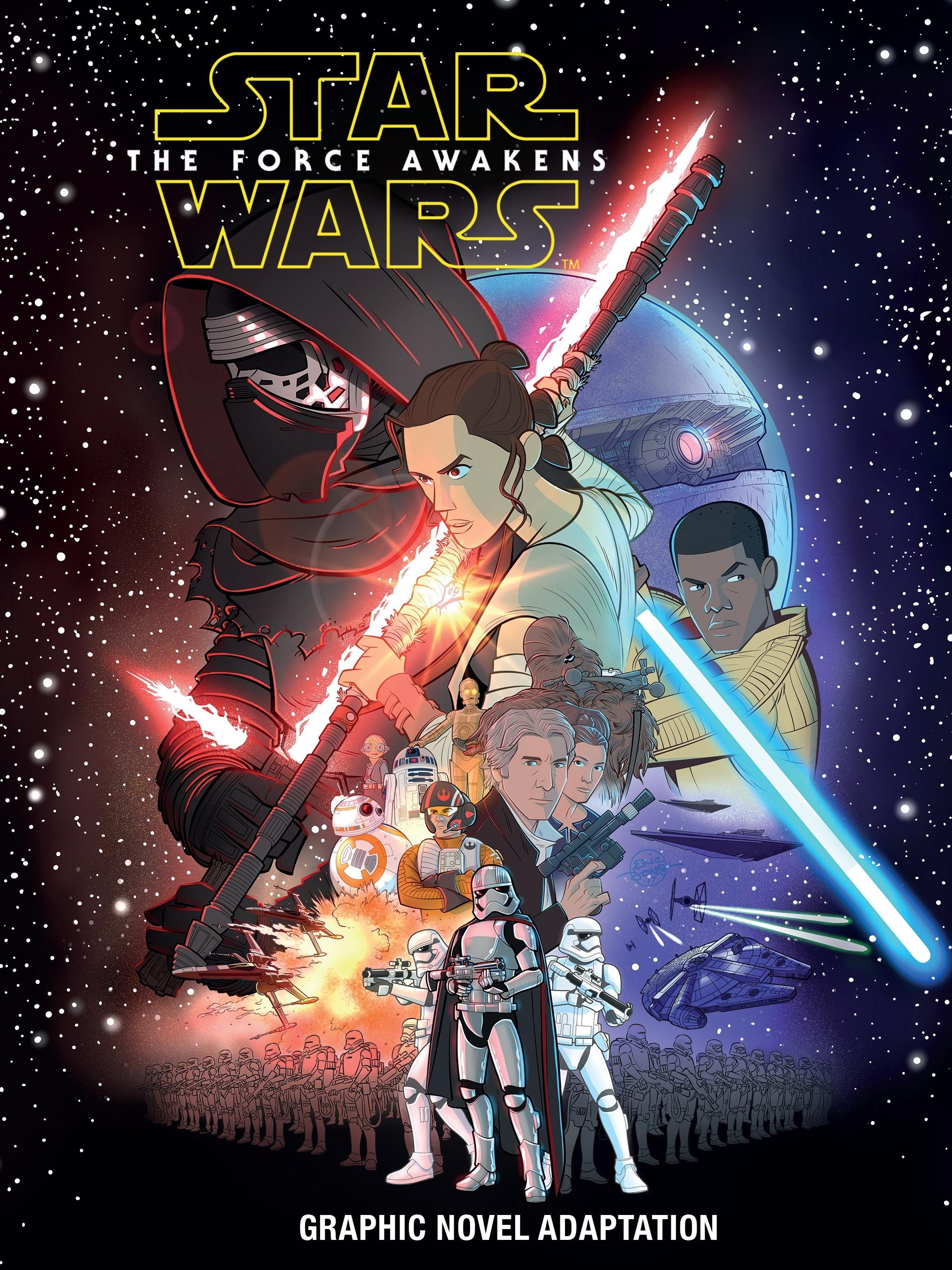 Star Wars The Force Awakens Graphic Novel Adaptation Wookieepedia Fandom