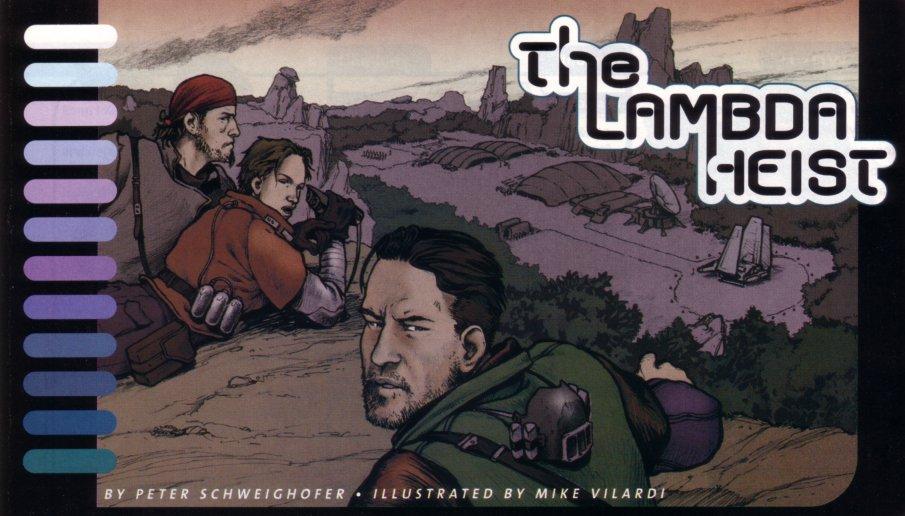 The Lambda Heist
