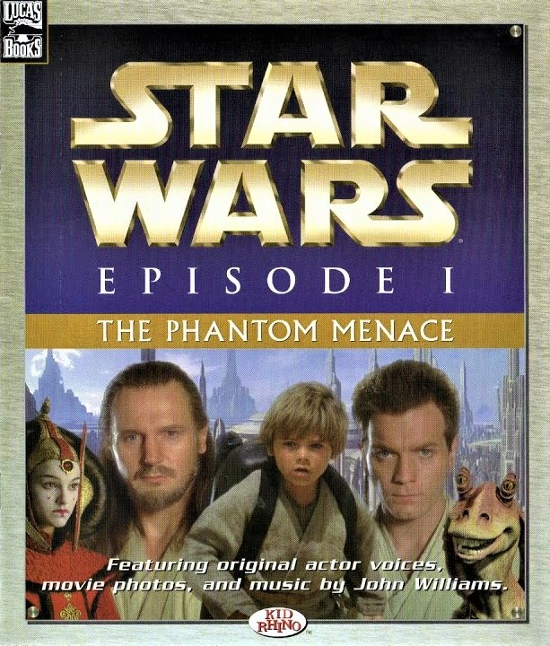 Star Wars Episode I: The Phantom Menace (book-and-record)