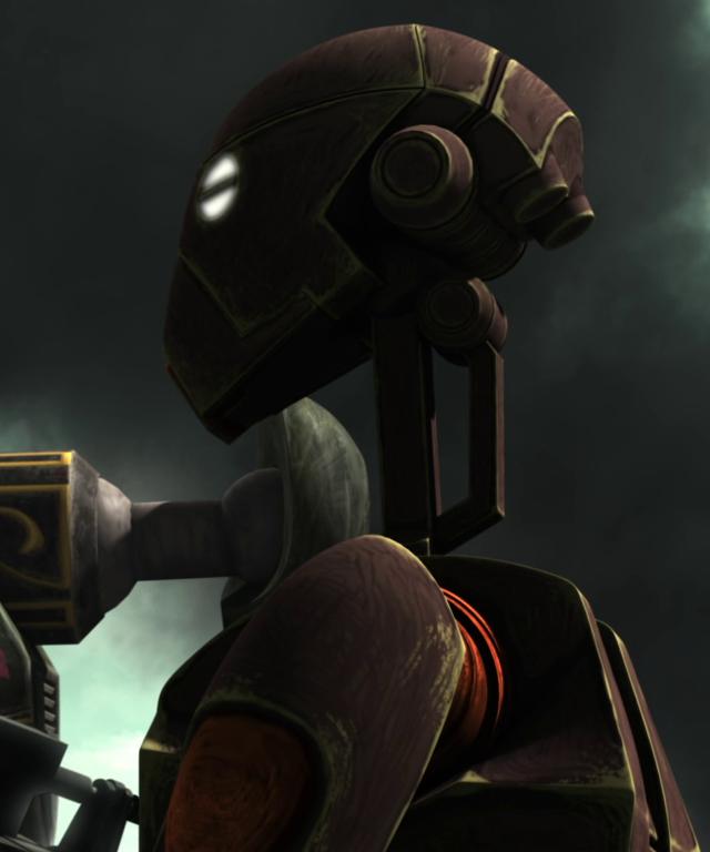 Unidentified BX-series droid commando (Onderon)
