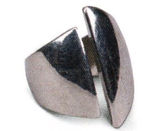 Codebreaker's platinum ring