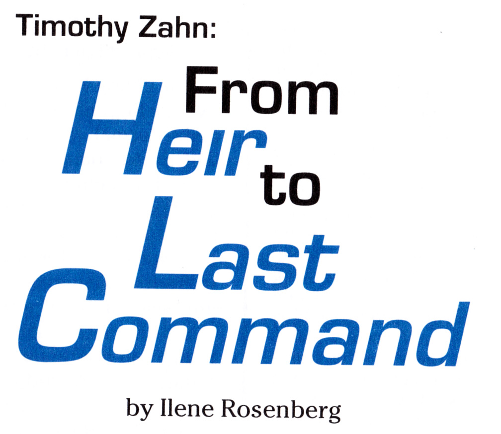 From Heir to Last Command