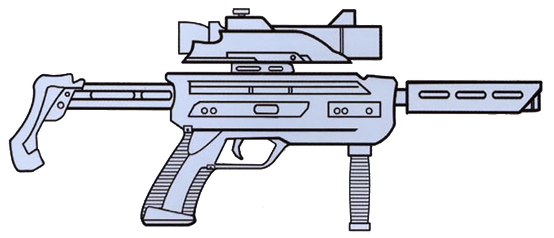 OK-98 blaster carbine