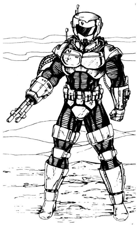Cragus 12's bounty hunter armor