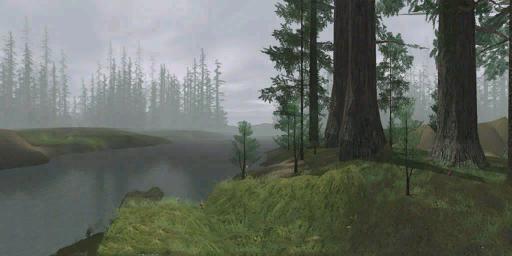 Endor landscape painting