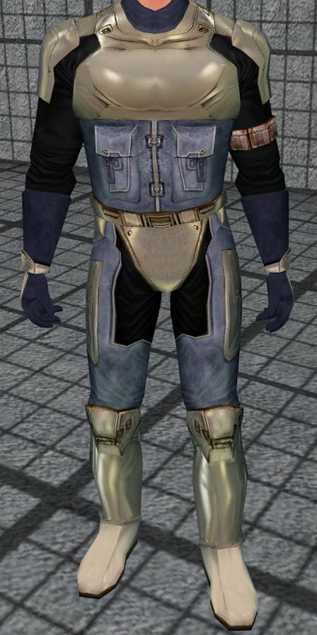 Calo Nord's battle armor