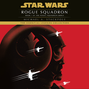 X-wing Rogue Squadron unabridged audiobook cover