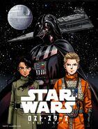 Lost Stars webcomic colored cover