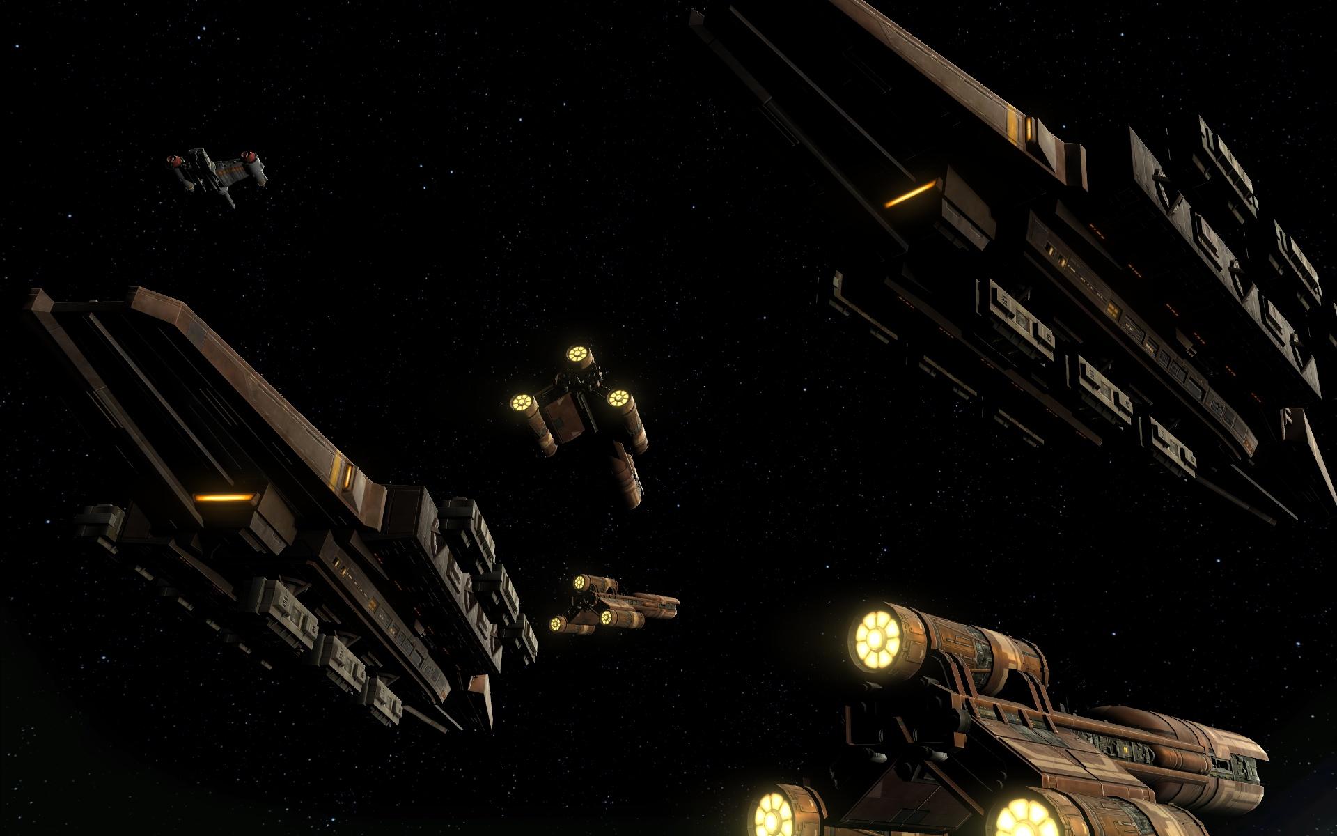 Voidwolf's personal strike fleet