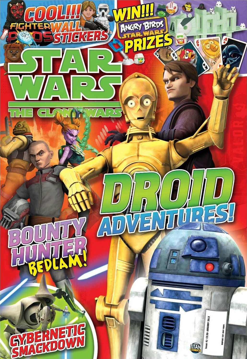 Star Wars: The Clone Wars Comic UK 6.41