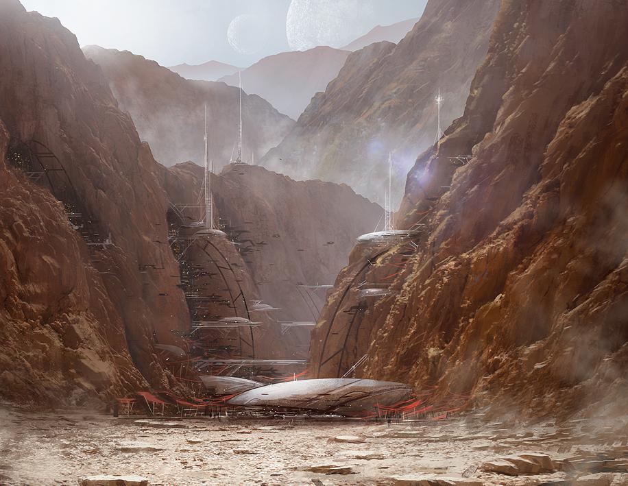 Arda I Rebel base