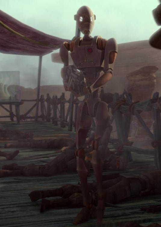 Unidentified BX-series droid commando 3 (Onderon)