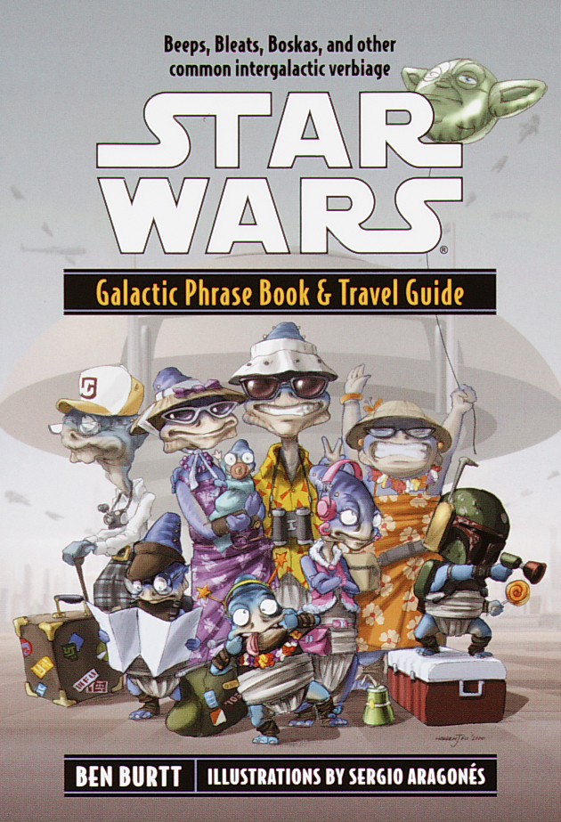 Galactic Phrase Book & Travel Guide (real-life book)