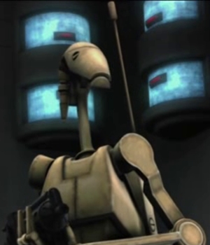 Unidentified B1 battle droid 3 (Skytop Station)