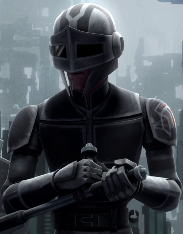 Unidentified Mandalorian secret service officer