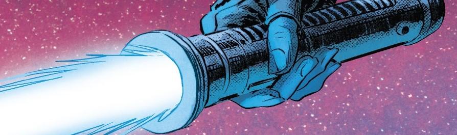 Eldra Kaitis's lightsaber