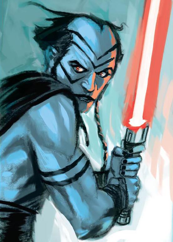 Unidentified Bpfasshi Dark Jedi
