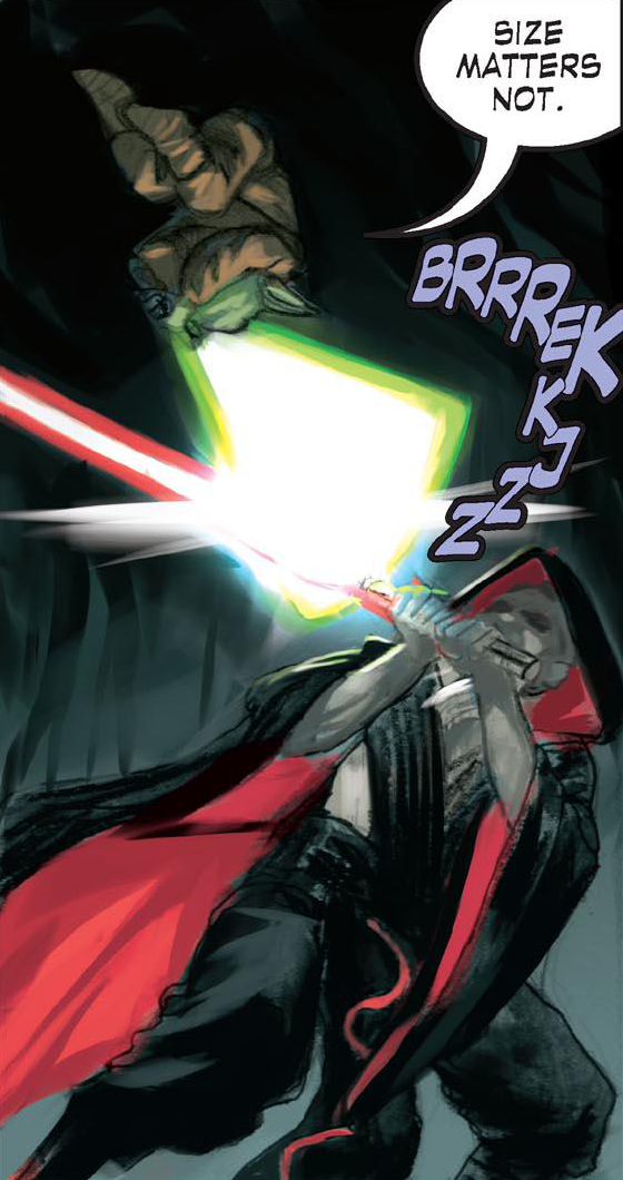 Duel on Dagobah (700 BBY)