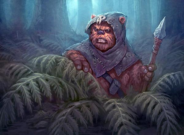 Unidentified Ewok scout