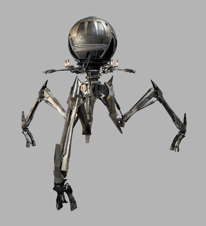 Octuptarra Combat Tri-Droid