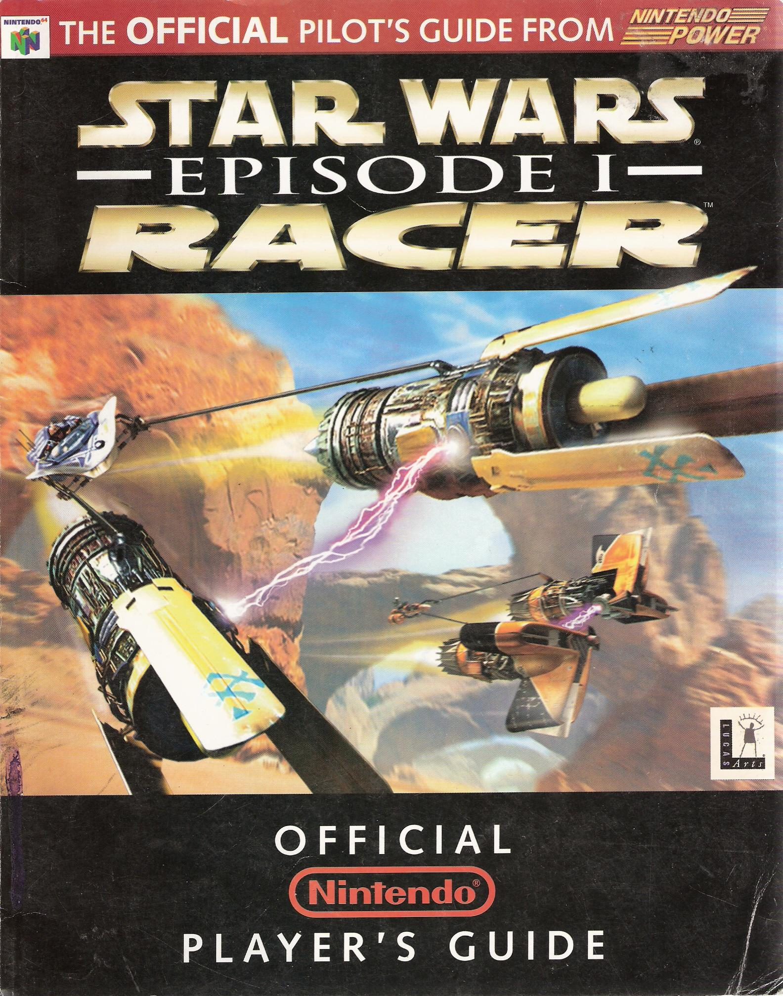 Star Wars: Episode I: Racer: The Official Nintendo Player's Guide