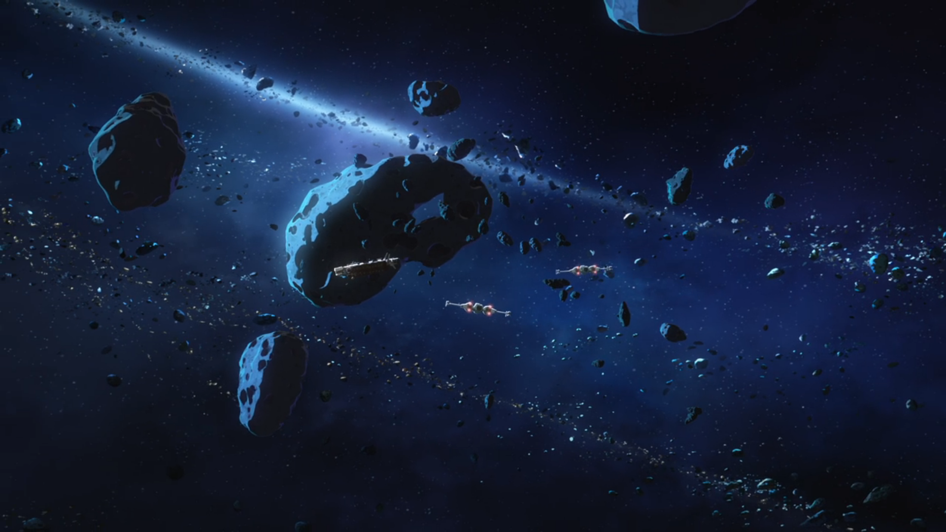 Castilon asteroid field
