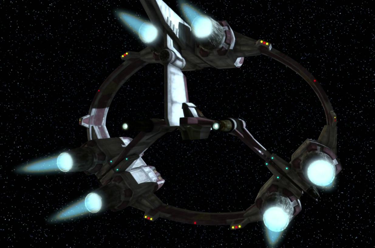 Syluire-31 hyperspace docking ring (V-19 Torrent model)