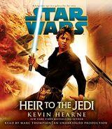 4. Heir to the Jedi - Hangoskönyv Borító