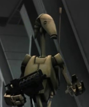 Unidentified B1 battle droid 2 (Skytop Station)