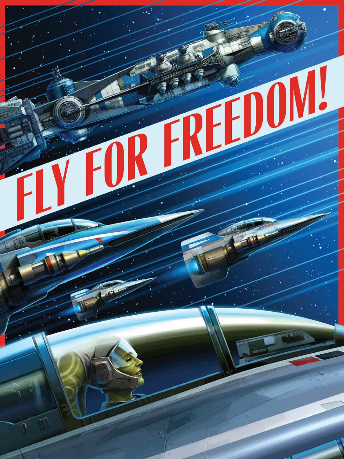 Fly For Freedom