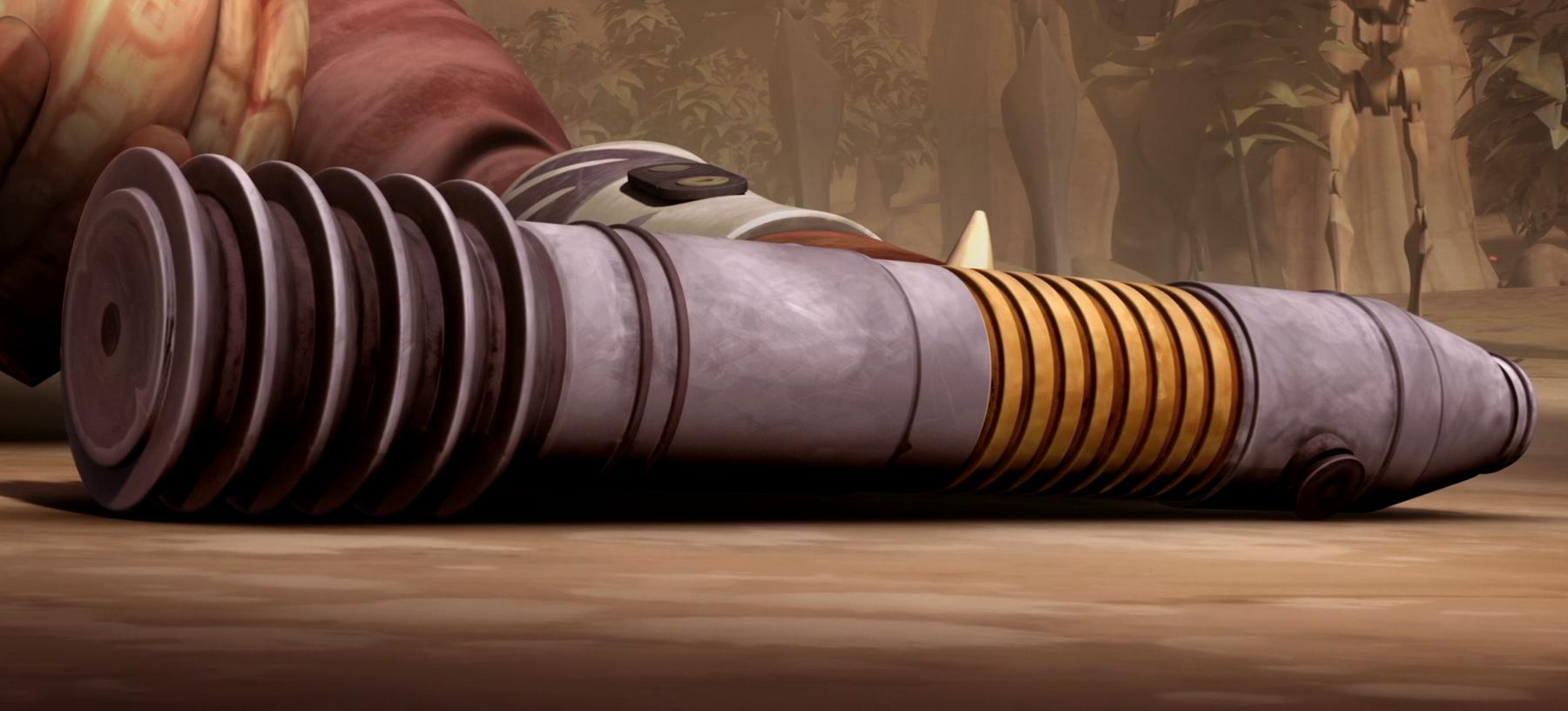 Ima-Gun Di's lightsaber