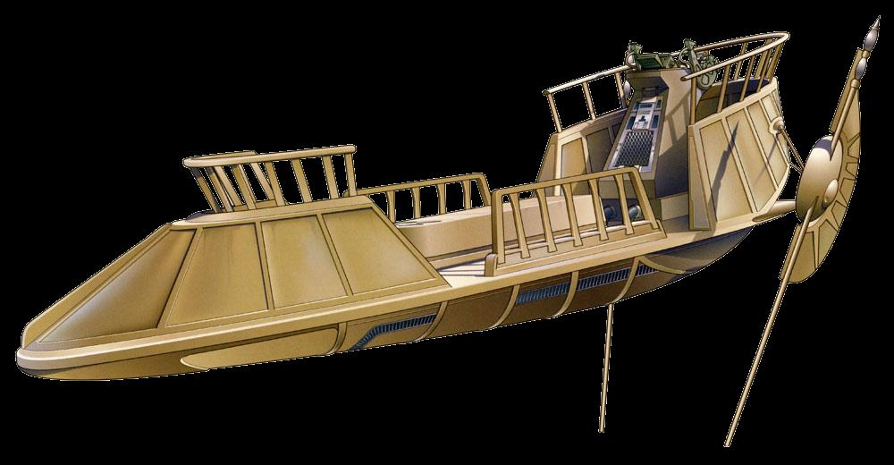 Bantha-II cargo skiff/Legends