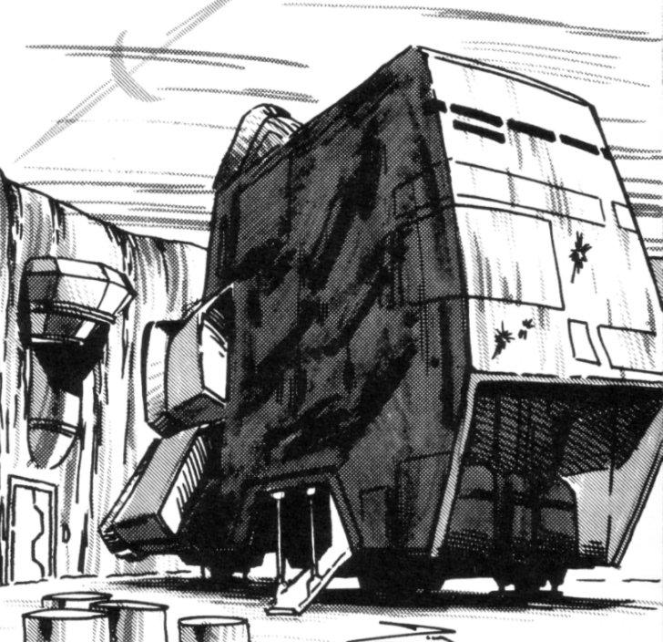 Subla Ransom Medium Cargo Hauler