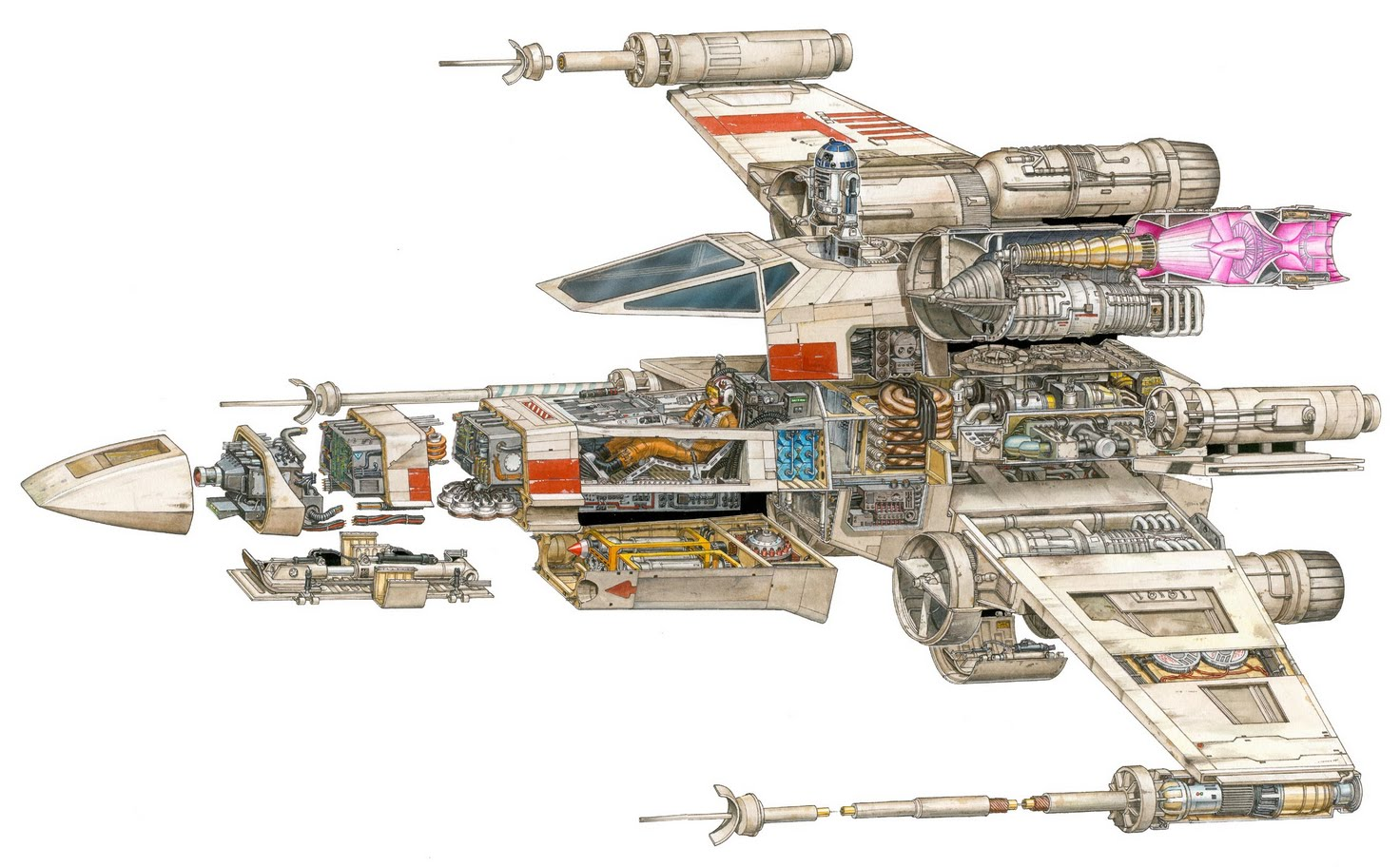 T-65C-A2 X-wing starfighter/Legends
