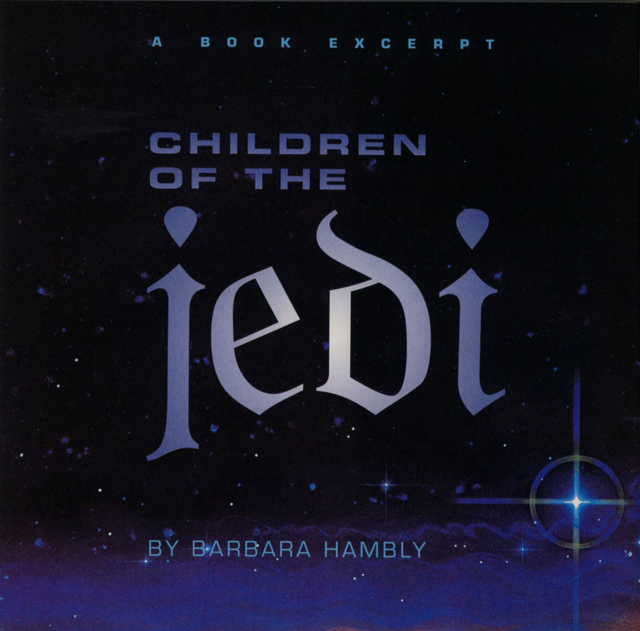 A Book Excerpt: Children of the Jedi