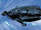 Grey and Styles' Gozanti-class cruiser