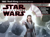 The Last Jedi Read-Along Storybook and CD
