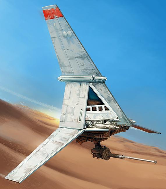 Luke Skywalker's T-16 skyhopper