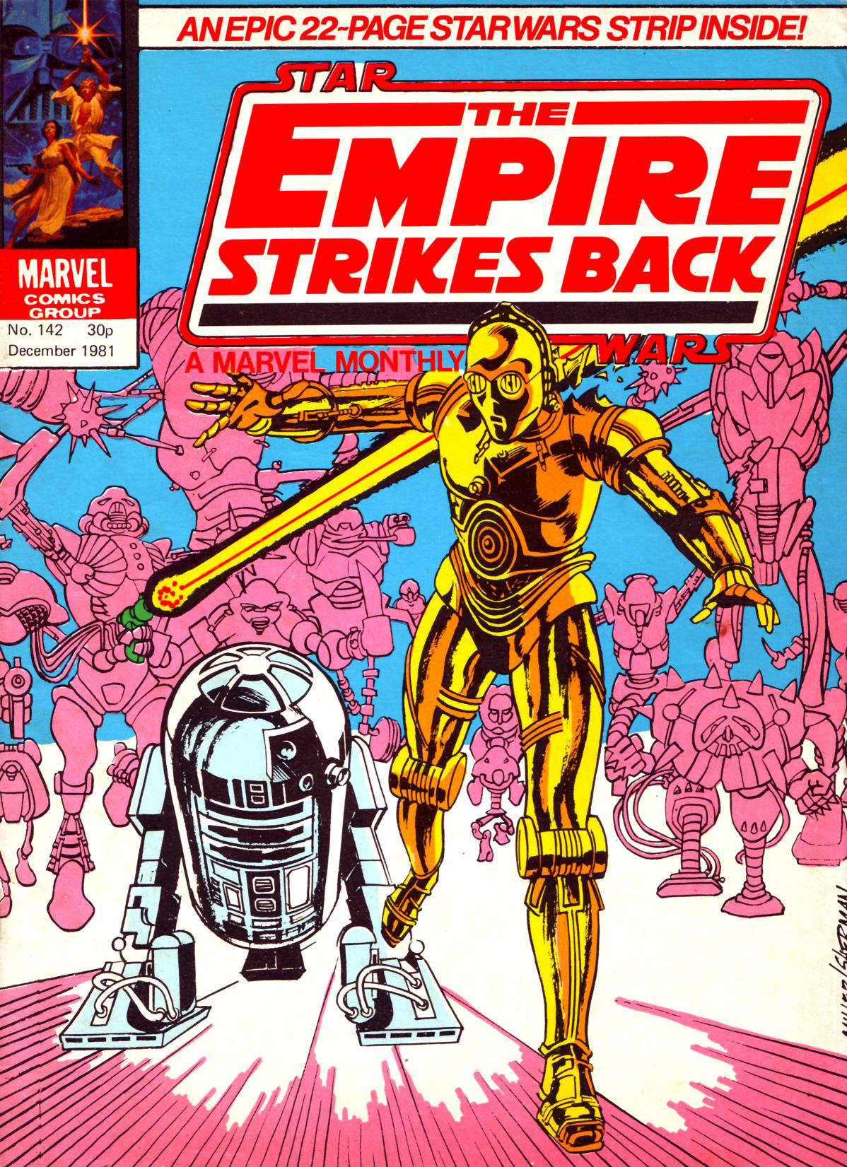 The Empire Strikes Back Monthly 142