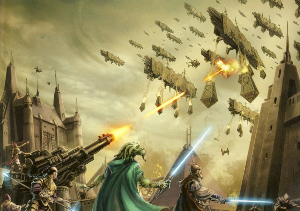 コルサントの戦い(ハイパースペース大戦)