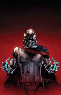 Kids Star Wars Captain Phasma 1//2 Mask The Force Awakens Costume Accessory