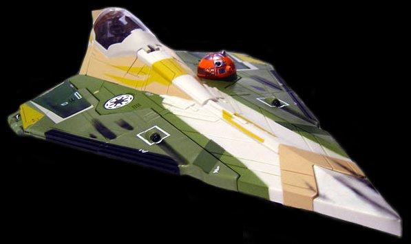 Kit Fisto's Delta-7 Aethersprite-class light interceptor